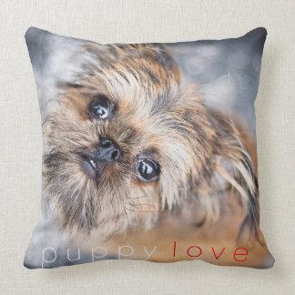Sup Pup Rup Brussels Griffon Pillow