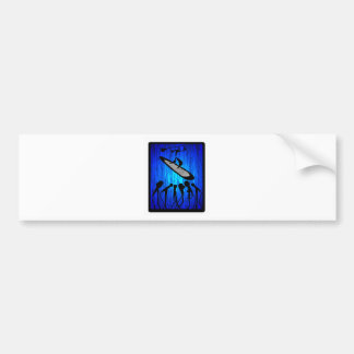 SUP SAY BLUE BUMPER STICKER