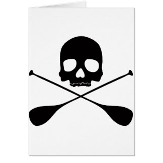SUP Skull Card
