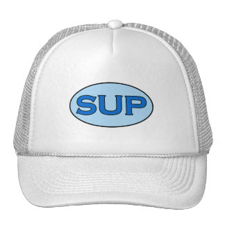 SUP (Stand Up Paddleboarding) Oval Logo Trucker Hat