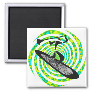 SUP THE DESCHUTES 2 INCH SQUARE MAGNET