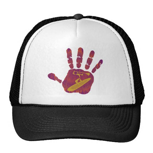 SUP THE HAND TRUCKER HAT