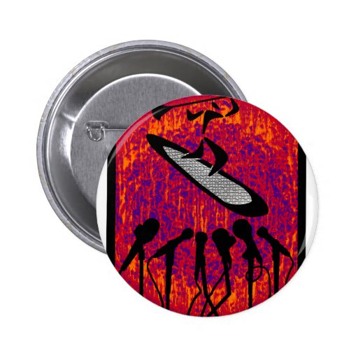 SUP THE INFLUENCE PINBACK BUTTON