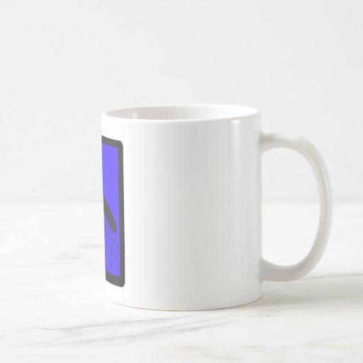 SUP Them BLUES Classic White Coffee Mug