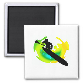 SUP TO VIBRANCE 2 INCH SQUARE MAGNET