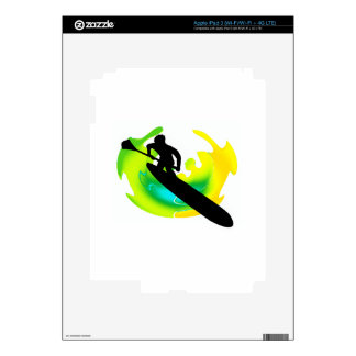 SUP TO VIBRANCE DECAL FOR iPad 3