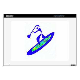 SUP WITH GROOVE DECAL FOR LAPTOP