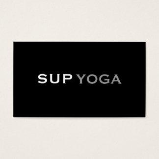 SUP YOGA BUSINESS CARD