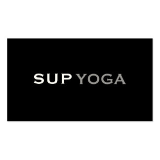 SUP YOGA Double-Sided STANDARD BUSINESS CARDS (Pack OF 100)