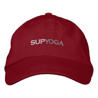 SUP YOGA EMBROIDERED BASEBALL CAP