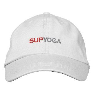 SUP YOGA EMBROIDERED BASEBALL HAT