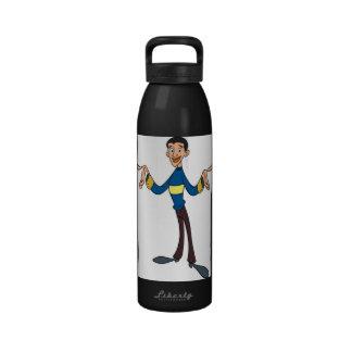 Supa Cool Man -  Hydro Water Bottles