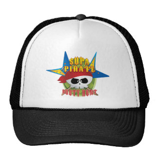 Supa Pirate Booty Hunt Mesh Hats