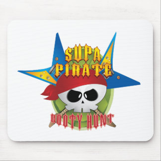 Supa Pirate Booty Hunt Mouse Mats