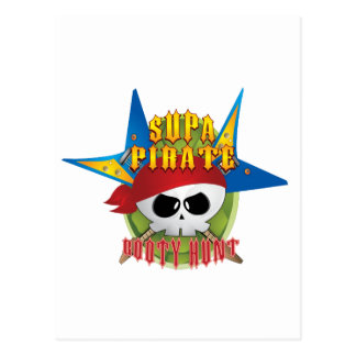 Supa Pirate Booty Hunt Postcards