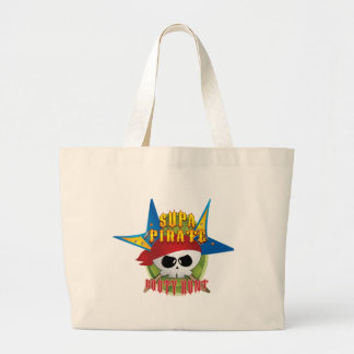 Supa Pirate Booty Hunt Tote Bags