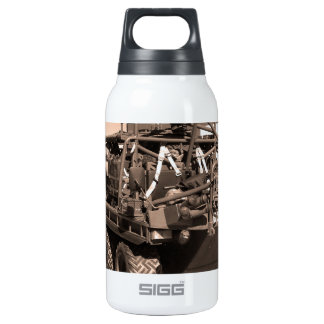 Supacat. The  all terrain six wheeled army vehicle 10 Oz Insulated SIGG Thermos Water Bottle