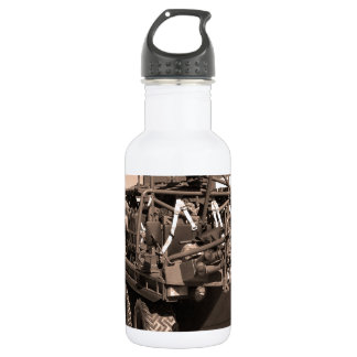 Supacat. The  all terrain six wheeled army vehicle 18oz Water Bottle