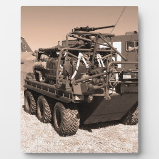 Supacat. The  all terrain six wheeled army vehicle Display Plaques
