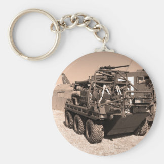 Supacat. The  all terrain six wheeled army vehicle Keychain