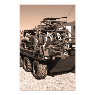 Supacat. The  all terrain six wheeled army vehicle Personalized Stationery