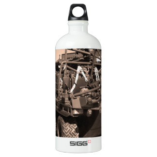 Supacat. The  all terrain six wheeled army vehicle Water Bottle