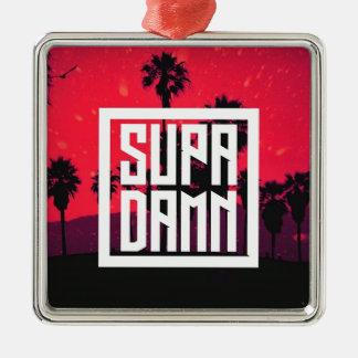 SUPADAMN Album Cover Art Metal Ornament