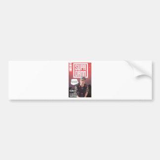 SUPADAMN Album Issue #1 Cover Art Bumper Sticker