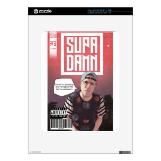 SUPADAMN Album Issue #1 Cover Art Decals For iPad