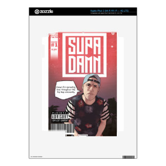 SUPADAMN Album Issue #1 Cover Art iPad 3 Decal