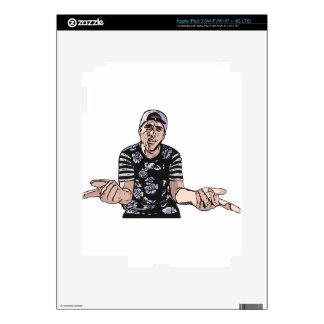 SUPADAMN Illustrated iPad 3 Decals