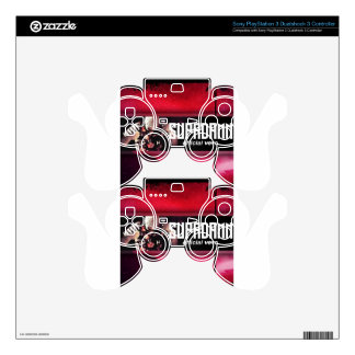 SUPADAMN VEVO Banner Skins For PS3 Controllers