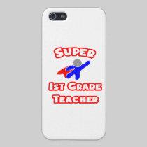 Super 1st Grade Teacher iPhone 5 Cases
