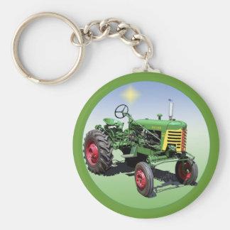 Super 44 basic round button keychain