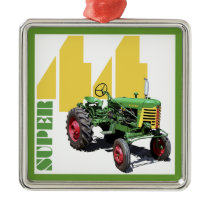 Super 44 metal ornament