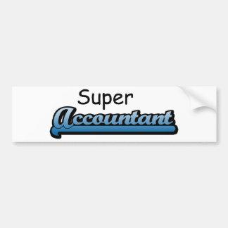 Super Accountant Bumper Sticker
