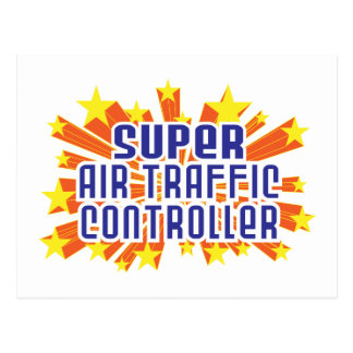 Super Air Traffic Controller Postcard