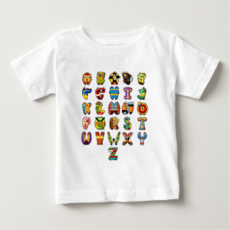 Super Alphabet T-shirt