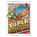SUPER AMERICAN 1940's PULP COMICS HERO Card