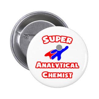 Super Analytical Chemist 2 Inch Round Button