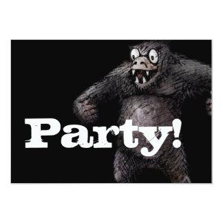 Super Ape Funny Custom Monkey Card