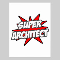 Super Architect Post Card