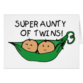 Super Aunty of Twins Pod Card