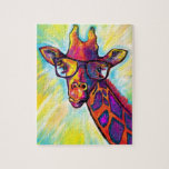 "Super Awesome Giraffe Puzzle<br><div class=""desc"">Super Awesome Giraffe Puzzle - fine art puzzle of exceptional silliness for your unending amusement.</div>"