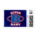 Super Baby Boys Postage Stamp