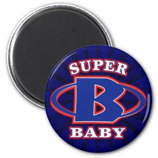 Super Baby Boys Round Magnet