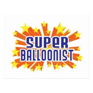 Super Balloonist Postcard