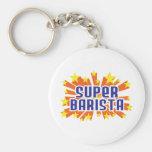 Super Barista Keychain