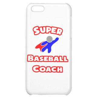 Super Baseball Coach Case For iPhone 5C