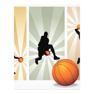 super-basketball flyer